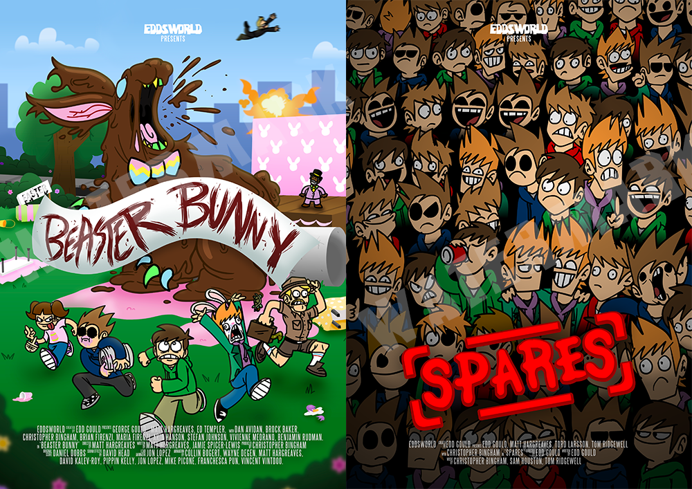 Beaster and Spares posters